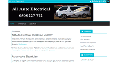 Preview of allautoelectrical.co.nz